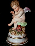 Meissen Cupid figures