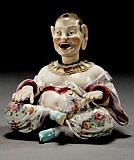 Meissen Nodding Pagoda Figures
