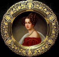 King's half-sister.  Married Emperor Franz I of Austria. Her oldest son Franz Joseph became emperor of Austria, while her second son Maximilian was Emperor of Mexico. She was considered by many to be the power behind the Austrian throne.